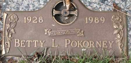POKORNEY, BETTY L. - Yankton County, South Dakota | BETTY L. POKORNEY - South Dakota Gravestone Photos