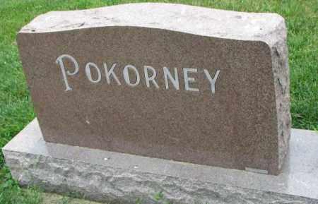 POKORNEY, PLOT - Yankton County, South Dakota   PLOT POKORNEY - South Dakota Gravestone Photos