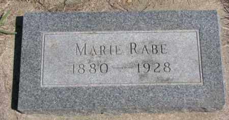 RABE, MARIE - Yankton County, South Dakota | MARIE RABE - South Dakota Gravestone Photos