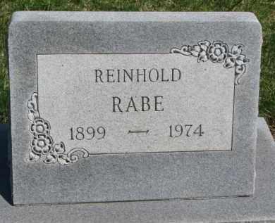 RABE, REINHOLD - Yankton County, South Dakota | REINHOLD RABE - South Dakota Gravestone Photos