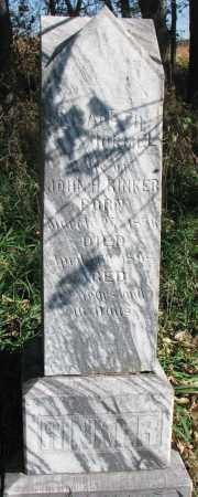 RINKER, ELIZABETH - Yankton County, South Dakota   ELIZABETH RINKER - South Dakota Gravestone Photos