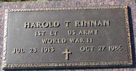 RINNAN, HAROLD T. (WW II) - Yankton County, South Dakota | HAROLD T. (WW II) RINNAN - South Dakota Gravestone Photos