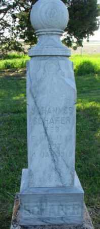 SCHAEFER, JOHANNES - Yankton County, South Dakota   JOHANNES SCHAEFER - South Dakota Gravestone Photos