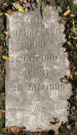 SCHAEFFER, ANNA - Yankton County, South Dakota | ANNA SCHAEFFER - South Dakota Gravestone Photos