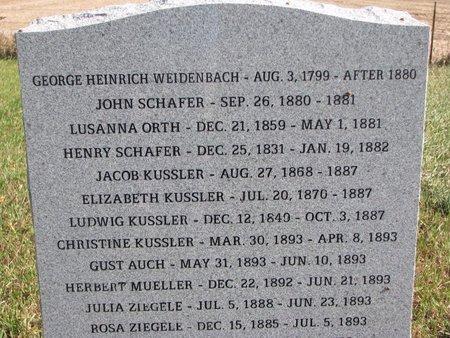 SCHAFER, HENRY - Yankton County, South Dakota   HENRY SCHAFER - South Dakota Gravestone Photos