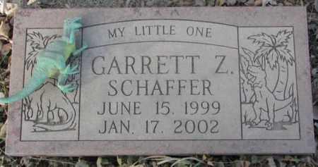 SCHAFFER, GARRETT Z. - Yankton County, South Dakota | GARRETT Z. SCHAFFER - South Dakota Gravestone Photos