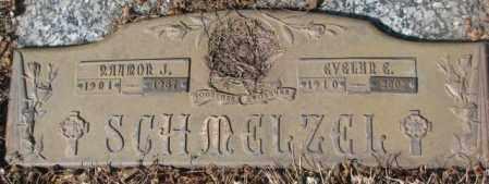 SCHMELZEL, EVELYN E. - Yankton County, South Dakota | EVELYN E. SCHMELZEL - South Dakota Gravestone Photos