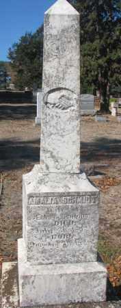 SCHMIDT, AMALIA - Yankton County, South Dakota | AMALIA SCHMIDT - South Dakota Gravestone Photos