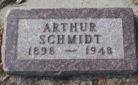 SCHMIDT, ARTHUR - Yankton County, South Dakota | ARTHUR SCHMIDT - South Dakota Gravestone Photos