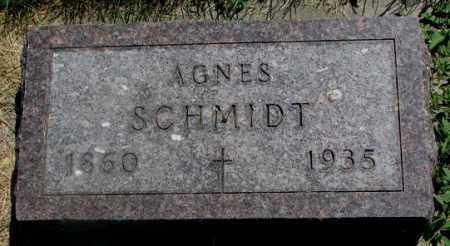 SCHMIDT, AGNES - Yankton County, South Dakota | AGNES SCHMIDT - South Dakota Gravestone Photos