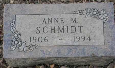 SCHMIDT, ANNE M. - Yankton County, South Dakota | ANNE M. SCHMIDT - South Dakota Gravestone Photos
