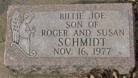 SCHMIDT, BILLIE JOE - Yankton County, South Dakota | BILLIE JOE SCHMIDT - South Dakota Gravestone Photos