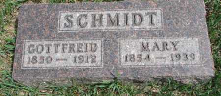 SCHMIDT, GOTTFREID - Yankton County, South Dakota | GOTTFREID SCHMIDT - South Dakota Gravestone Photos