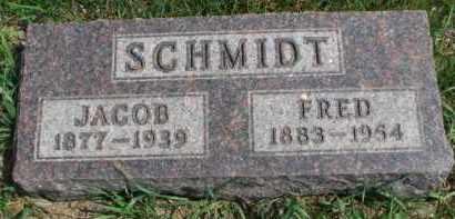 SCHMIDT, JACOB - Yankton County, South Dakota | JACOB SCHMIDT - South Dakota Gravestone Photos