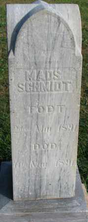 SCHMIDT, MADS - Yankton County, South Dakota | MADS SCHMIDT - South Dakota Gravestone Photos