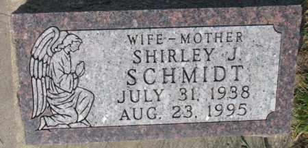 SCHMIDT, SHIRLEY J. - Yankton County, South Dakota   SHIRLEY J. SCHMIDT - South Dakota Gravestone Photos