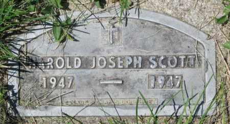 SCOTT, HAROLD JOSEPH - Yankton County, South Dakota | HAROLD JOSEPH SCOTT - South Dakota Gravestone Photos
