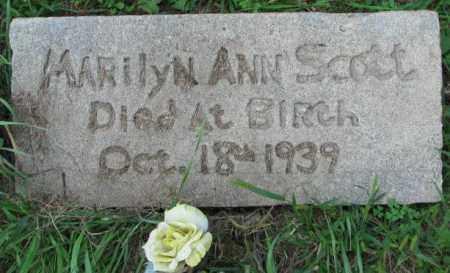 SCOTT, MARILYN ANN - Yankton County, South Dakota | MARILYN ANN SCOTT - South Dakota Gravestone Photos