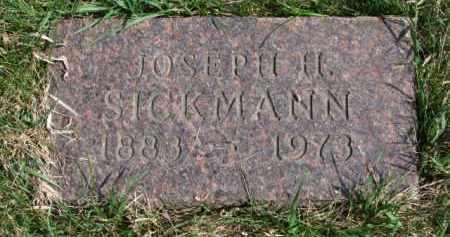 SICKMANN, JOSEPH H. - Yankton County, South Dakota | JOSEPH H. SICKMANN - South Dakota Gravestone Photos