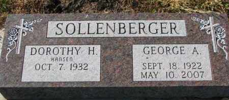SOLLENBERGER, DOROTHY H. - Yankton County, South Dakota | DOROTHY H. SOLLENBERGER - South Dakota Gravestone Photos