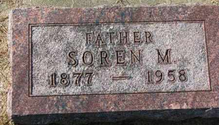 SORENSEN, SOREN M. - Yankton County, South Dakota | SOREN M. SORENSEN - South Dakota Gravestone Photos