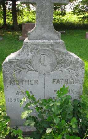 TIRNER, ANNA - Yankton County, South Dakota | ANNA TIRNER - South Dakota Gravestone Photos