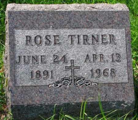 TIRNER, ROSE - Yankton County, South Dakota | ROSE TIRNER - South Dakota Gravestone Photos