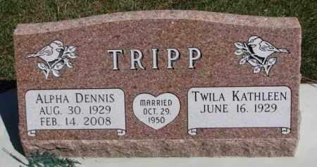 TRIPP, TWILA KATHLEEN - Yankton County, South Dakota | TWILA KATHLEEN TRIPP - South Dakota Gravestone Photos