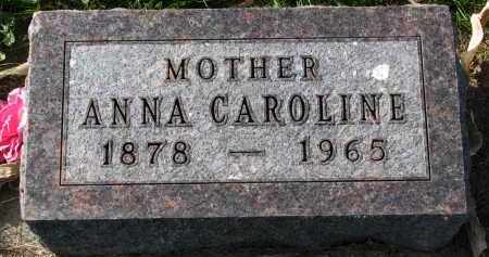 TRUSTY, ANNA CAROLINE - Yankton County, South Dakota | ANNA CAROLINE TRUSTY - South Dakota Gravestone Photos