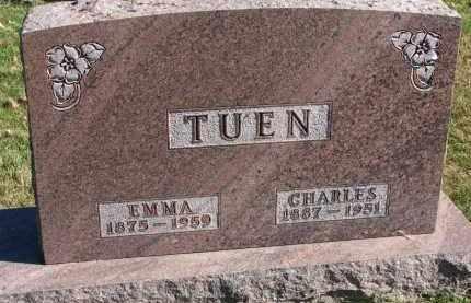 TUEN, EMMA - Yankton County, South Dakota | EMMA TUEN - South Dakota Gravestone Photos