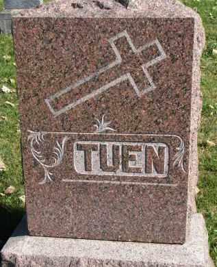 TUEN, FAMILY STONE - Yankton County, South Dakota   FAMILY STONE TUEN - South Dakota Gravestone Photos