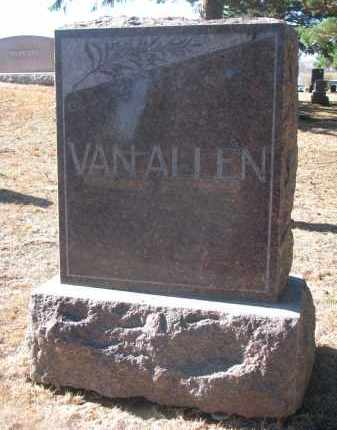 VAN ALLEN, FAMILY STONE - Yankton County, South Dakota | FAMILY STONE VAN ALLEN - South Dakota Gravestone Photos