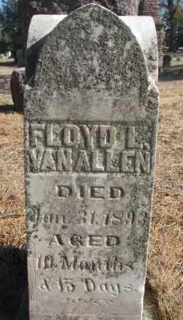 VAN ALLEN, FLOYD L. - Yankton County, South Dakota | FLOYD L. VAN ALLEN - South Dakota Gravestone Photos