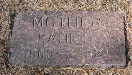 VAN ALLEN, KATIE E. - Yankton County, South Dakota   KATIE E. VAN ALLEN - South Dakota Gravestone Photos