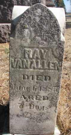 VAN ALLEN, RAY - Yankton County, South Dakota | RAY VAN ALLEN - South Dakota Gravestone Photos