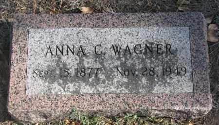 WAGNER, ANNA C. - Yankton County, South Dakota | ANNA C. WAGNER - South Dakota Gravestone Photos