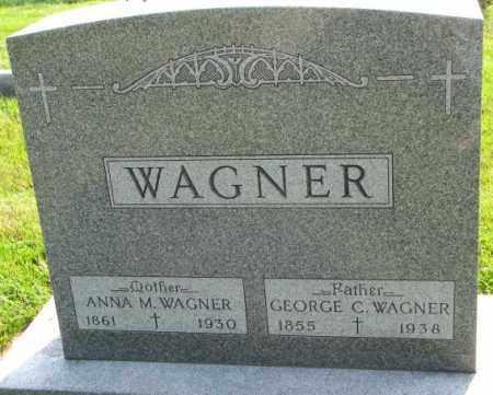 WAGNER, ANNA M. - Yankton County, South Dakota | ANNA M. WAGNER - South Dakota Gravestone Photos
