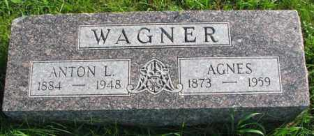 WAGNER, AGNES - Yankton County, South Dakota | AGNES WAGNER - South Dakota Gravestone Photos