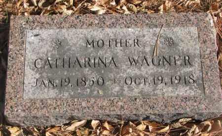 WAGNER, CATHARINA - Yankton County, South Dakota | CATHARINA WAGNER - South Dakota Gravestone Photos