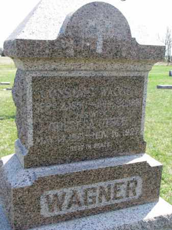 WAGNER, THERESA - Yankton County, South Dakota | THERESA WAGNER - South Dakota Gravestone Photos