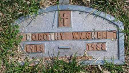 WAGNER, DOROTHY - Yankton County, South Dakota   DOROTHY WAGNER - South Dakota Gravestone Photos