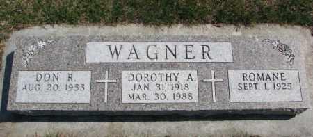 WAGNER, ROMANE - Yankton County, South Dakota | ROMANE WAGNER - South Dakota Gravestone Photos