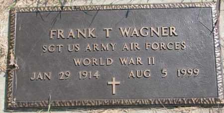 WAGNER, FRANK T. (WW II) - Yankton County, South Dakota   FRANK T. (WW II) WAGNER - South Dakota Gravestone Photos