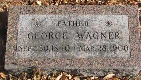 WAGNER, GEORGE - Yankton County, South Dakota | GEORGE WAGNER - South Dakota Gravestone Photos