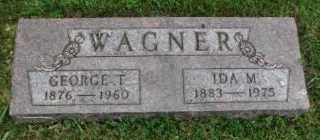 WAGNER, GEORGE T. - Yankton County, South Dakota | GEORGE T. WAGNER - South Dakota Gravestone Photos