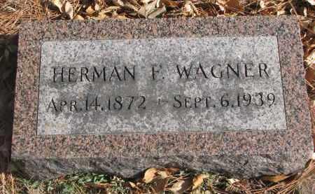 WAGNER, HERMAN F. - Yankton County, South Dakota | HERMAN F. WAGNER - South Dakota Gravestone Photos