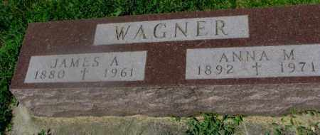 WAGNER, JAMES A. - Yankton County, South Dakota | JAMES A. WAGNER - South Dakota Gravestone Photos