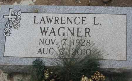 WAGNER, LAWRENCE L. - Yankton County, South Dakota   LAWRENCE L. WAGNER - South Dakota Gravestone Photos