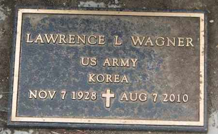 WAGNER, LAWRENCE L. (MILITARY) - Yankton County, South Dakota | LAWRENCE L. (MILITARY) WAGNER - South Dakota Gravestone Photos