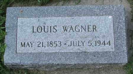 WAGNER, LOUIS - Yankton County, South Dakota | LOUIS WAGNER - South Dakota Gravestone Photos